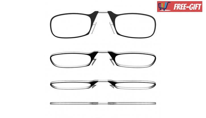 Очила по модел ThinOptics,  за четене от +1.0 до +2.5 (Черни) снимка #4