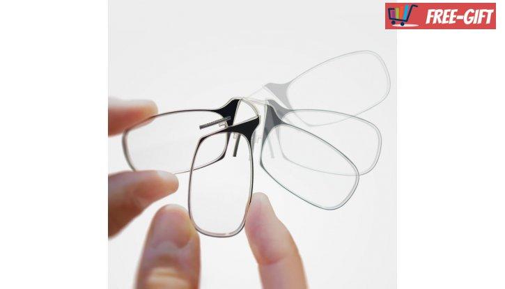 Очила по модел ThinOptics,  за четене от +1.0 до +2.5 (Черни) снимка #5