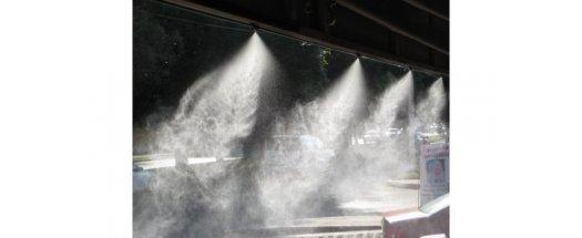 Водна мъгла - Система за охлаждане с водна мъгла 7.5м, 5 дюзи снимка #3