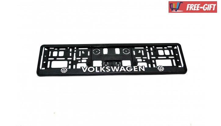 Рамка за номер на автомобил Volkswagen снимка #2