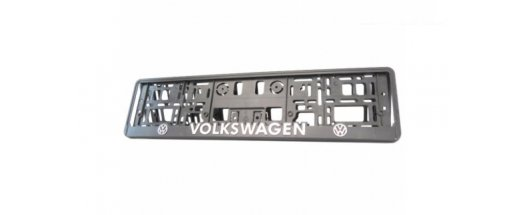 Рамка за номер на автомобил Volkswagen снимка #0