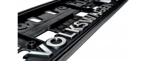 Рамка за номер на автомобил Volkswagen снимка #4