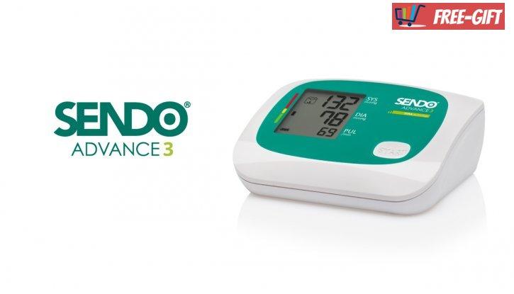 Сендо Адванс 3 Апарат за Измерване на Кръвно Налягане и..