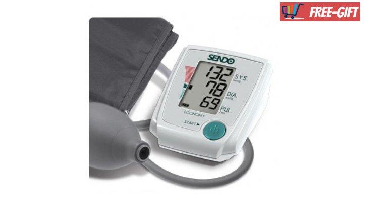 Електронен апарат за кръвно налягане Сендо Економи