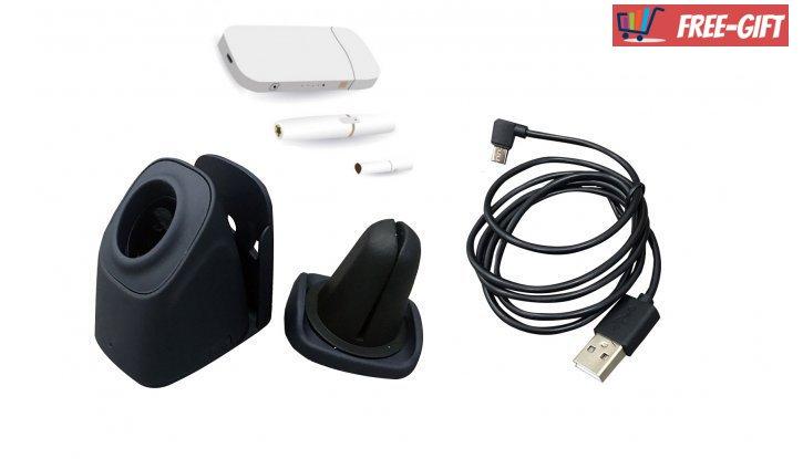 Зарядно за бездимна електронна цигара с USB кабел снимка #1