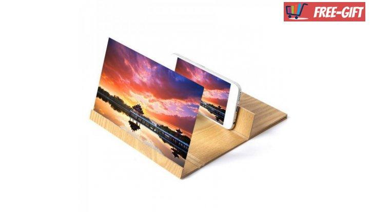 Поставка за телефон с четирикратен  HD увеличителен екран снимка #2
