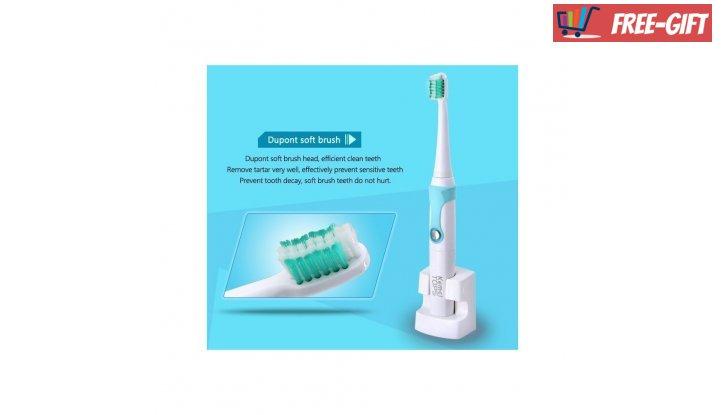Комплект Електрическа Четка за Зъби с 4 Глави Kemei Tops снимка #1