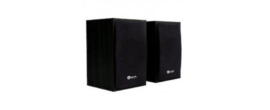 Колонки C-TECH SPK-09BK, 2.0, 4W, 3.5mm, USB Power, Black снимка #0