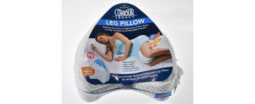 Ортопедична възглавница за крака от мемори пяна снимка #2