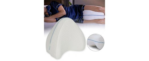 Ортопедична възглавница за крака от мемори пяна снимка #1