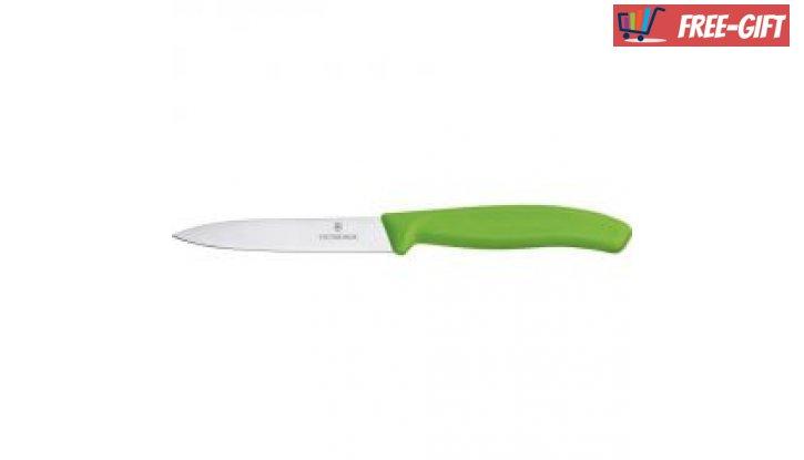 Кухненски нож за белене Victorinox SwissClassic 10 см., гладко острие, цветове  снимка #3