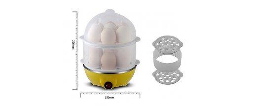 Яйцеварка за 14 броя яйца, машинка перфектно сварени яйца снимка #3