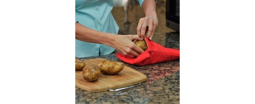 Джоб за печене на картофи в микровълнова фурна снимка #2