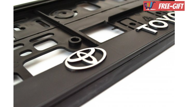 Рамки за номер на автомобил Toyota снимка #1