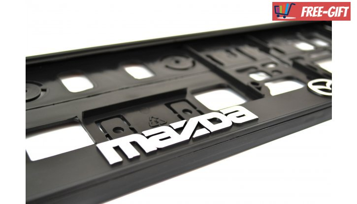 Рамки за номер на автомобил Mazda снимка #0