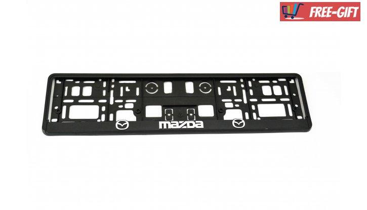 Рамки за номер на автомобил Mazda снимка #2