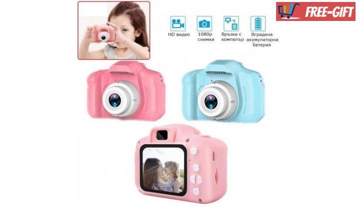 Дигитален детски фотоапарат снимка #3