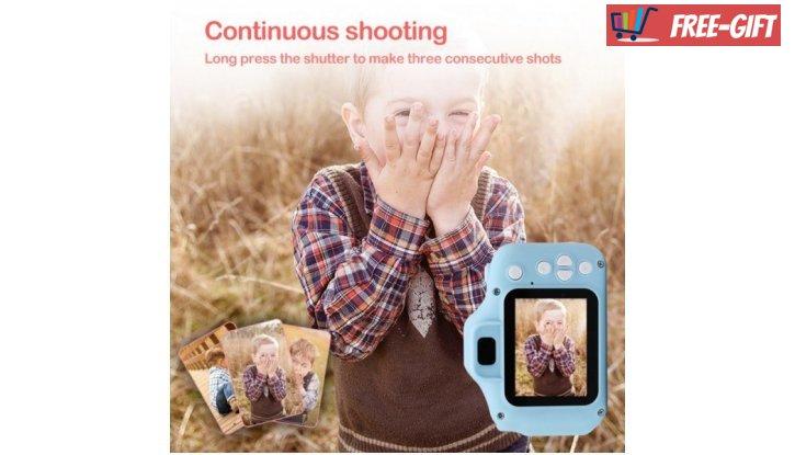 Дигитален детски фотоапарат снимка #1