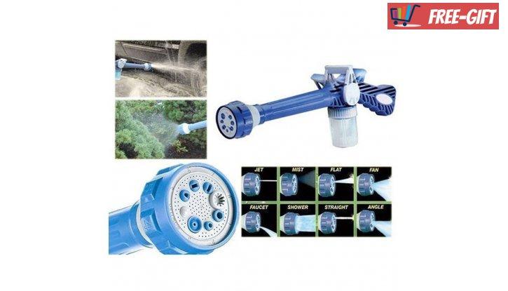 Накрайник за маркуч Ez Jet Water Cannon с 8 различни начина на пръскане снимка #2