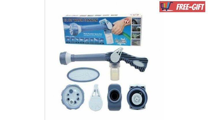 Накрайник за маркуч Ez Jet Water Cannon с 8 различни начина на пръскане снимка #0