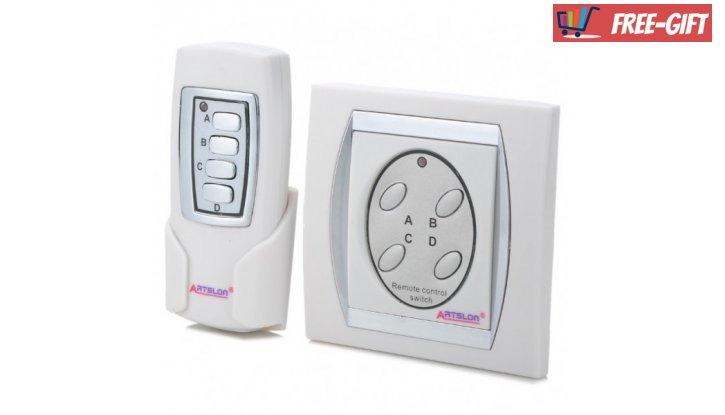 Ключ за осветление с дистанционно управление ArtslonT-923В снимка #0