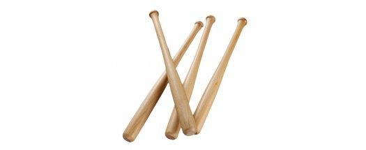 Дървена бухалка за бейзбол снимка #0